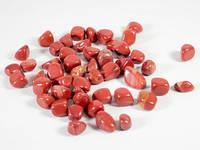 Камни для декора Яшма красная Упаковка 500 грамм Размер камней 20-30 мм Красный (16874)