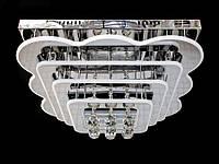 Светодиодная потолочная люстра с хрустальными подвесками с пультом 5045-600, фото 1