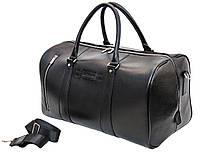 Мужская дорожная кожаная сумка (Баул) Black Diamond BD30AF