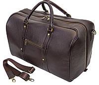 Мужская дорожная кожаная сумка (Баул) Black Diamond BD31C