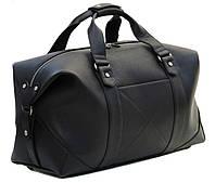 Мужская кожаная дорожная сумка (Баул) Black Diamond BD32AF