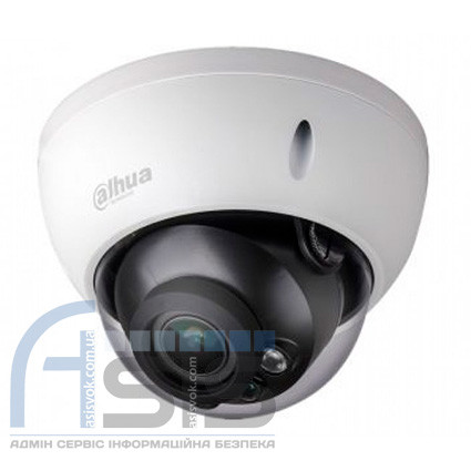 4Мп HDCVI видеокамера Dahua с ИК подсветкой DH-HAC-HDBW1400RP-Z