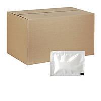 Влажная салфетка для рук и лица в индивидуальной упаковке оптом размер саше 6х8 см в ящике 600 шт.