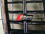 Решетка радиатора Audi A6 2008-2012, фото 3
