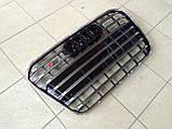 Решітка радіатора Audi A6 C7 2011-2014, фото 3