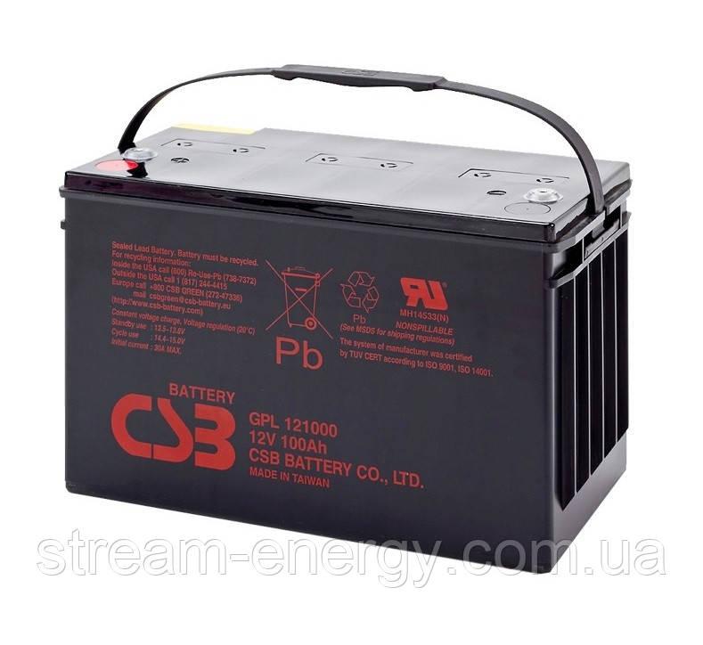 Аккумуляторная батарея CSB (12В - 100Ач) GPL121000