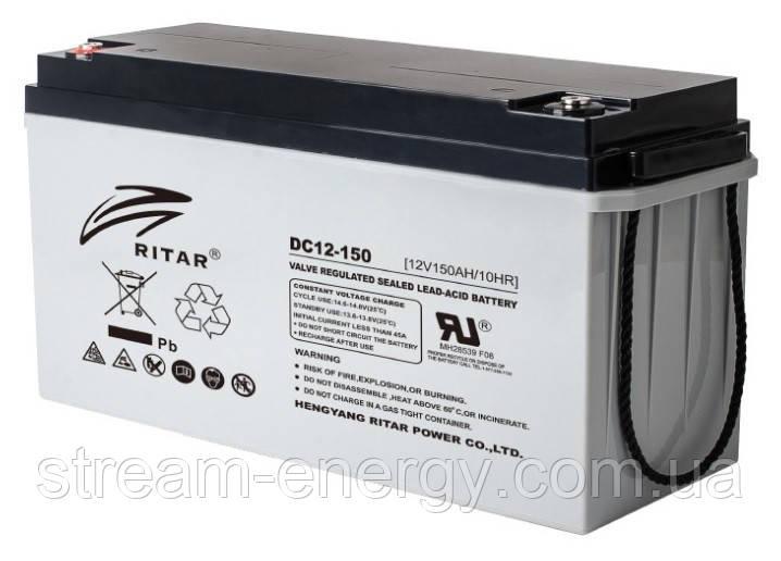 Аккумулятор AGM Ritar (12В -150Ач) DC12-150