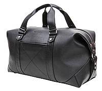 Мужская кожаная дорожная сумка (Баул) Black Diamond BD32A