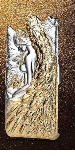 3D Чехол Angel Kamael для iPhone 6/6s золото REMAX 603701