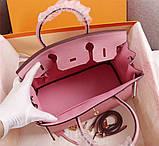 Сумка женская Эрмес Биркин 25, 30, 35 см натуральная кожа, фото 8