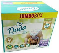 Dada Extra soft 4 MAXI  Jumbo Box /7‑18 кг/ Подгузники детские одноразовые 82 шт./уп
