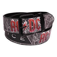 Ремень с печатью AC/DC Black Ice