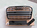 Решетка радиатора Audi A6 2014-, фото 3