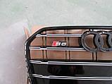 Решетка радиатора Audi A6 2014-, фото 4