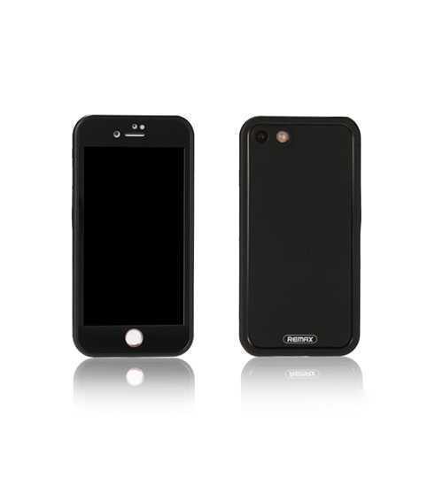 Поліестер і ударостійкий чохол Journey для iPhone 7 чорний Remax 702401