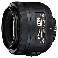 Объектив Nikkor AF-S 35mm f/1.8G DX Nikon (JAA132DA)