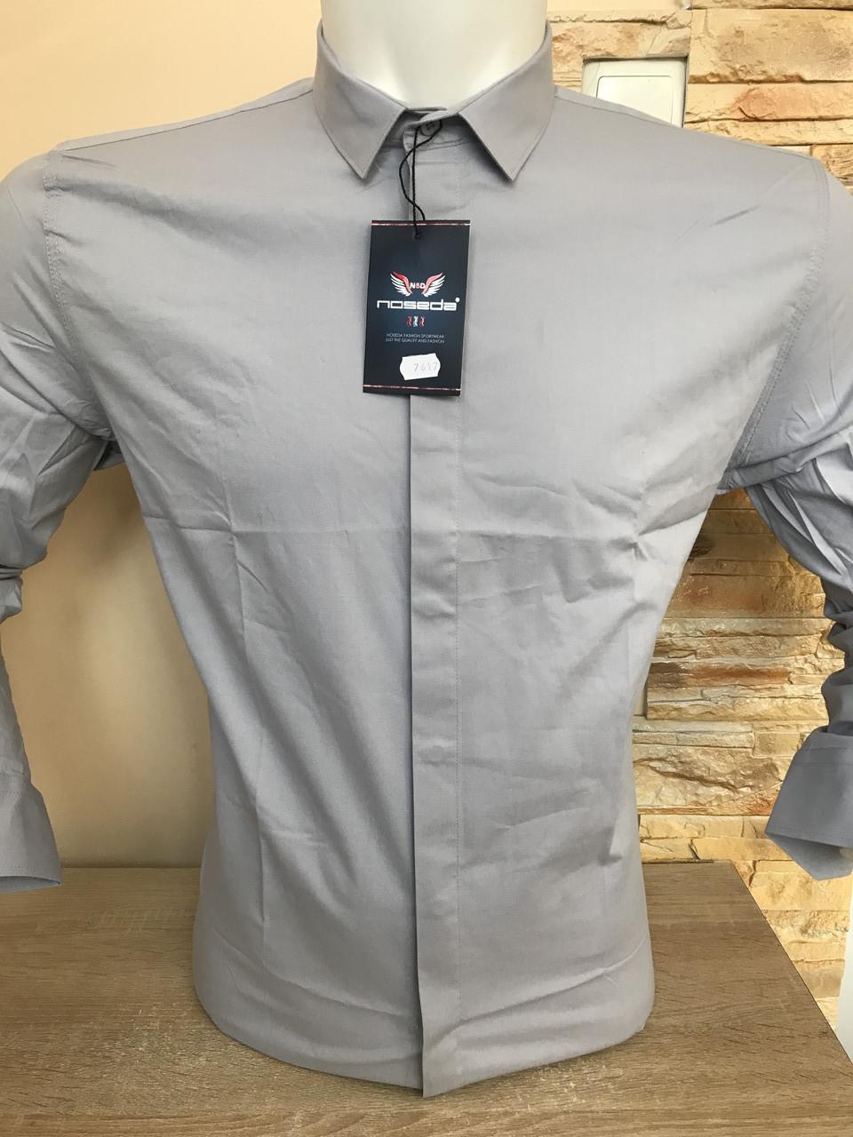 Однотонная рубашка Noseda