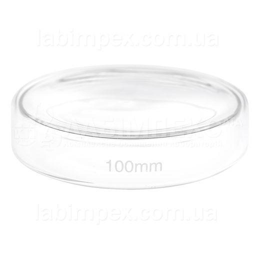 Чашка Петри стеклянная Ø 100 мм, h=20 мм - 120 шт.