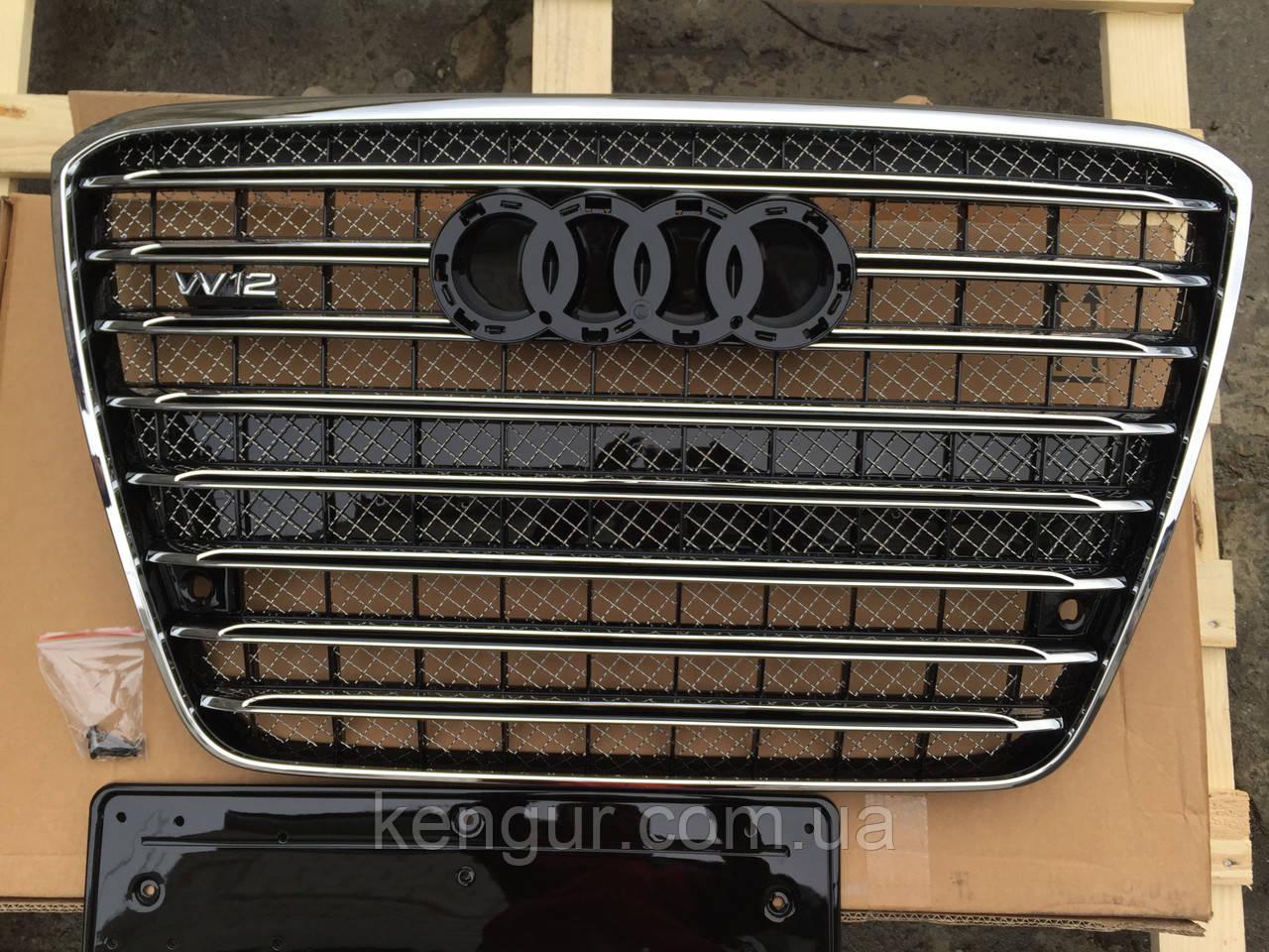 Решітка радіатора Audi A8 W12