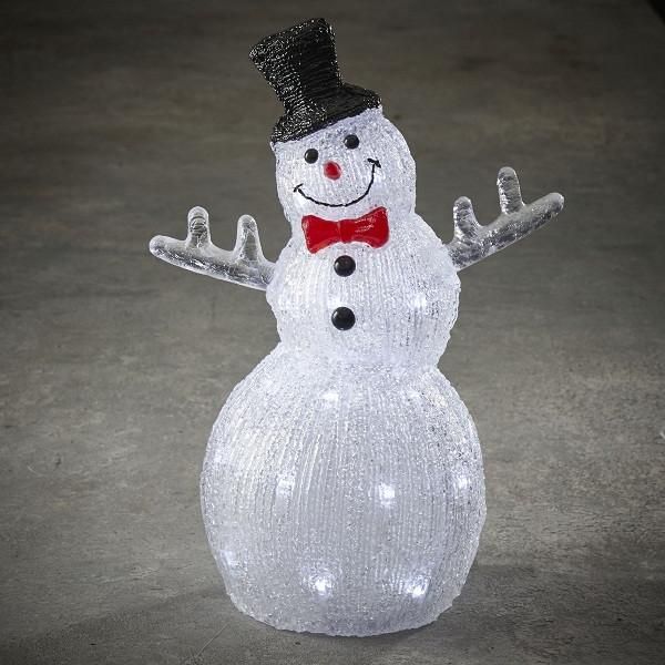 """Фигура светодиодная """"Снеговик 38.5 см"""", акриловая, 30 led """"Luca Lighting"""""""