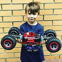 Перевертыш Бигфут BigFoot Rock Crawler на р/у, 48 см UD2168A Hyper Actives Stunt   1:10   Красного цвета