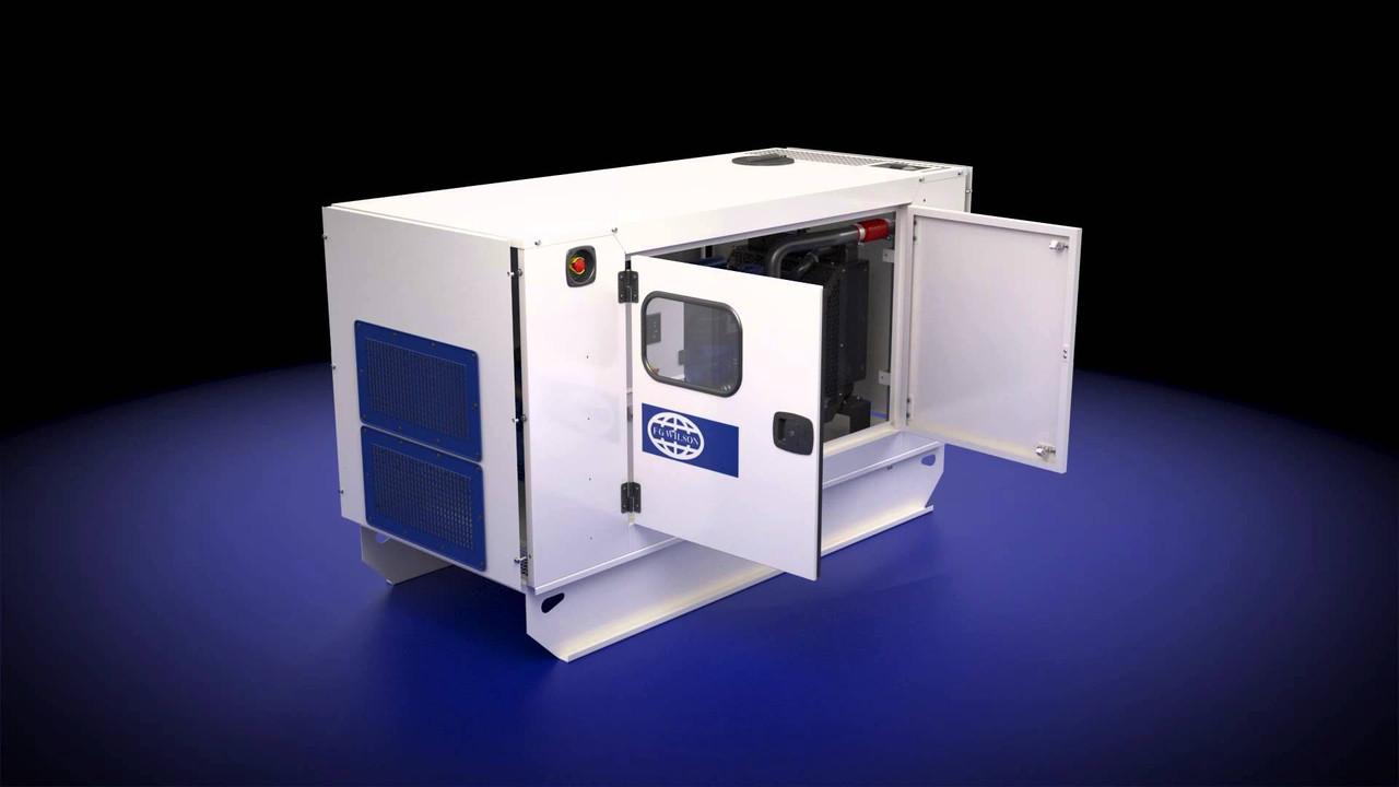 Трехфазный дизельный генератор FG WILSON P400-1 (320 кВт)