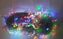 Гирлянда 300 LED 5 мм,на прозрачном проводе,разноцветная