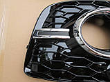 Решетки туманок Audi Q3 стиль RSQ3, фото 2