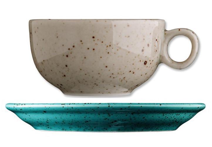 Чашка с блюдцем - 90 мл, Бежевая (G.Benedikt) Life Style