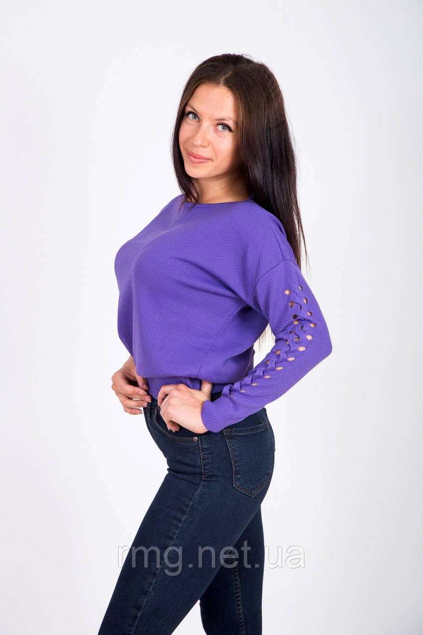 Женский свитер со стильным рукавом Турция