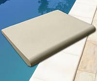 Бортовой камень для бассейна. Ширина 400мм. Прямой.