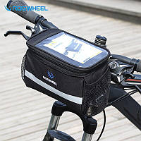 Велосумка Roswheel с боковыми карманами, на руль (3.5 л)