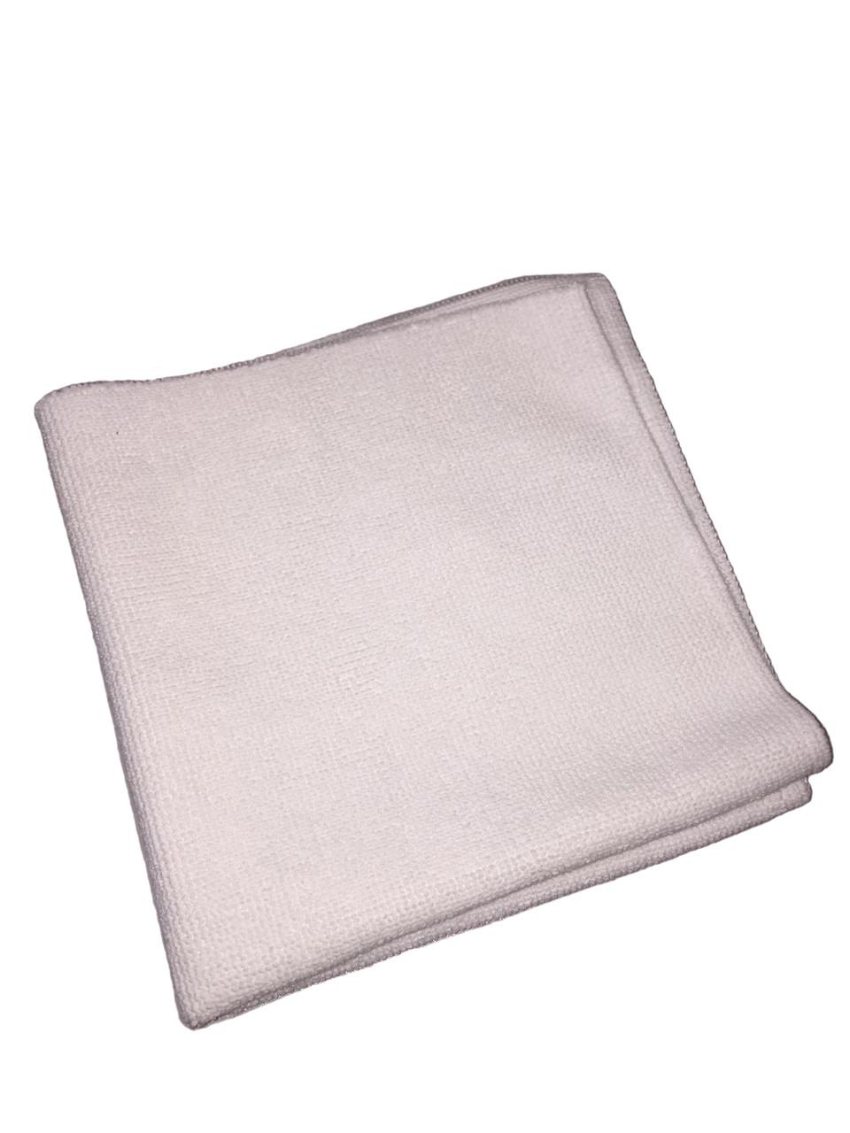 Рушник микрофибровое біле - Meguiar's Ultimate Wipe Detailing Cloth 40х40 див. (E101)