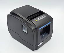 Термопринтер, POS, чековий принтер Xprinter XP-F600L USB чорний (XP-F600L)