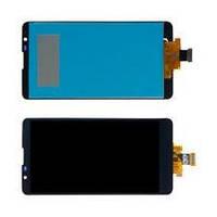 Дисплей для LG K520 Stylus 2 модуль в сборе с тачскрином, черный