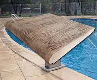 """Бортовой камень """"ДУБ"""" для бассейна. Ширина 400мм. Прямой."""