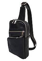 Мужской кожаный рюкзак через плечоBlack Diamond BD22A