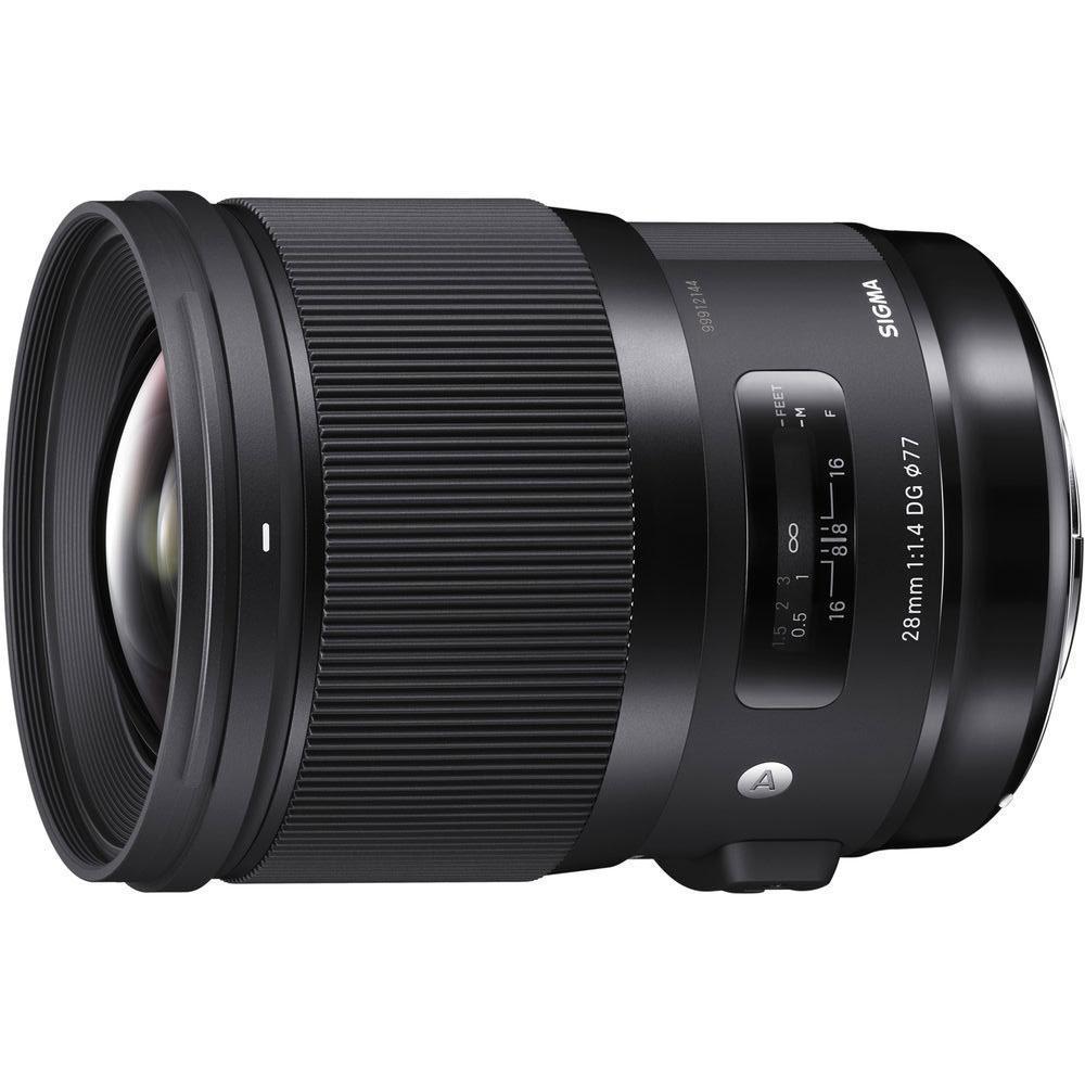 Об'єктив Sigma 28mm f/1.4 DG HSM Art Nikon (На складі)