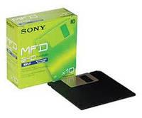 3.5 флоппи-диски SONY двусторонние высокой плотности отформатированные