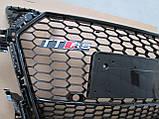 Решетка радиатора Audi TT стиль Audi TT RS, фото 3