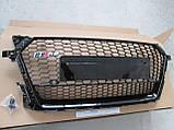 Решетка радиатора Audi TT стиль Audi TT RS, фото 4