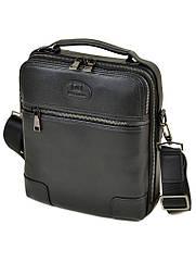 Мужская кожаная сумка BRETTON черного цвета