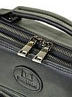 Мужская кожаная сумка BRETTON черного цвета, фото 3