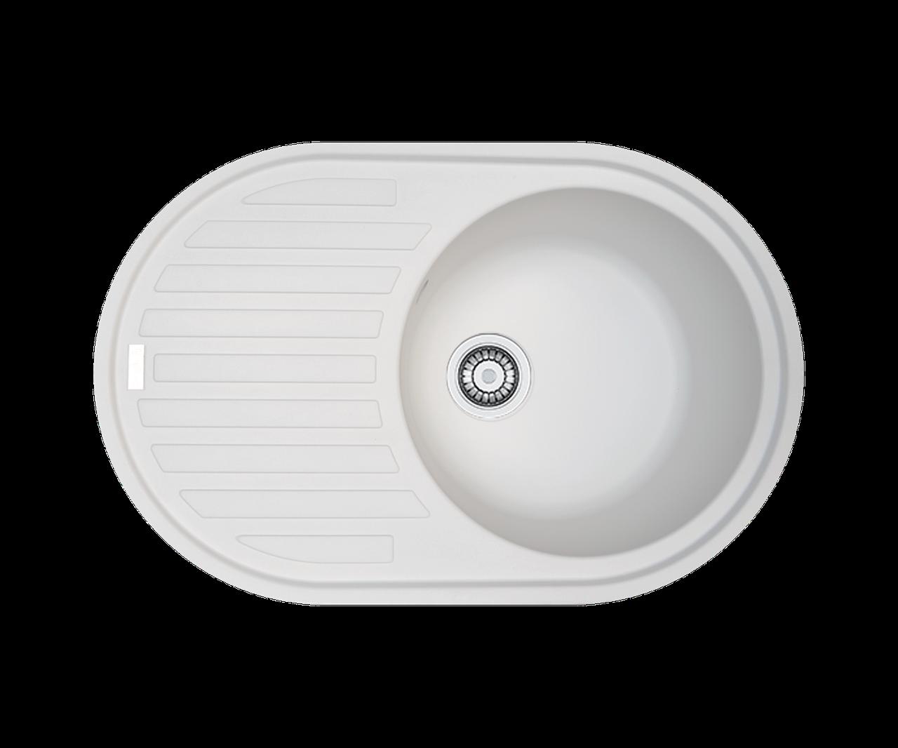 Кухонна мийка гранітна Borgio OVM-770x500  перлистий