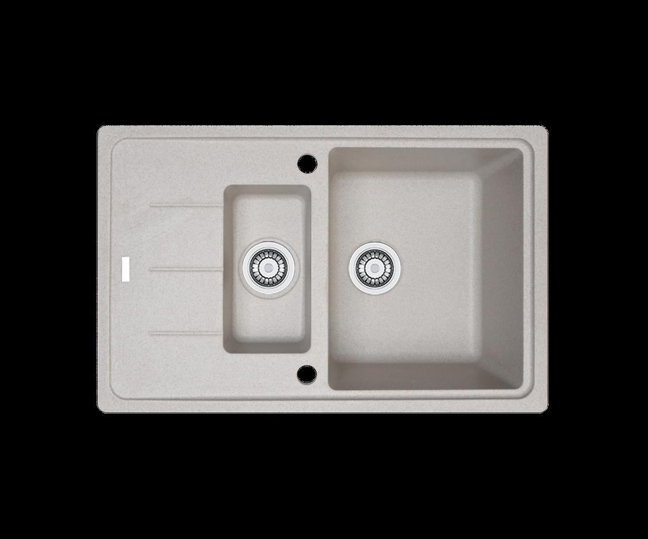 Кухонна мийка гранітна Borgio PRFC-780x500 піщаний