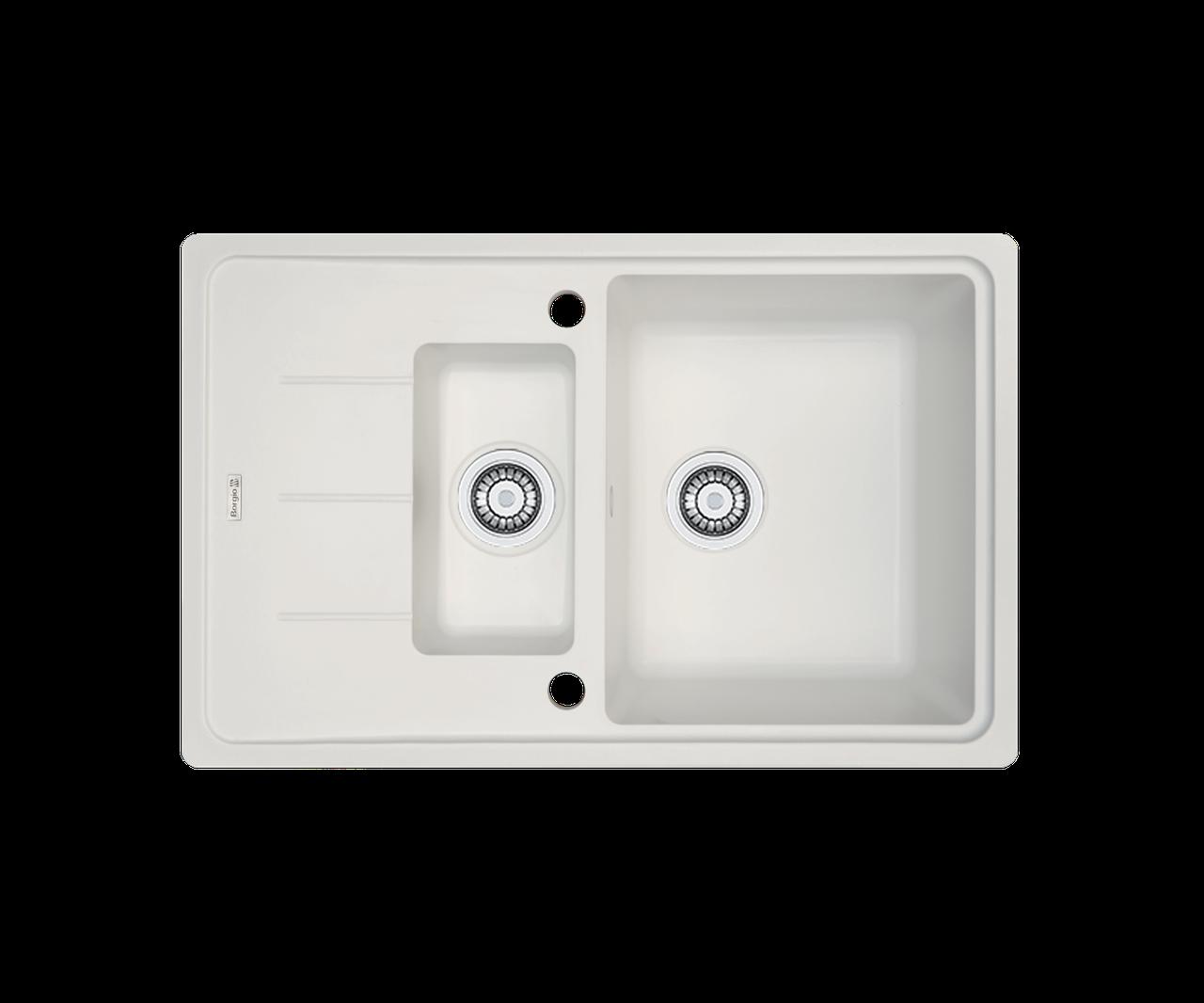 Кухонна мийка гранітна Borgio PRFC-780x500 перлистий