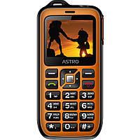 Мобильный телефон Astro B200 RX Black Orange, фото 1