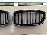 Решетка радиатора ноздри BMW F10, фото 5