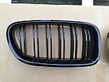 Решетка радиатора ноздри BMW F10, фото 3