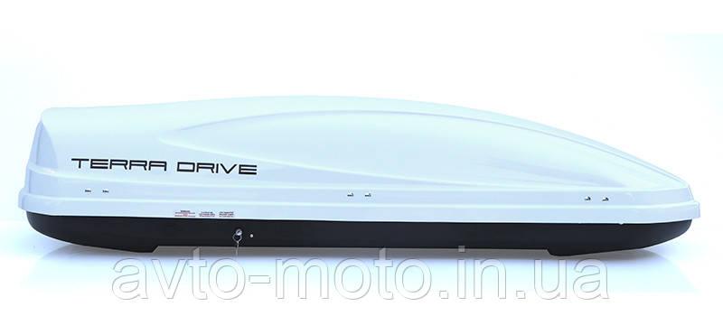 Автомобильный багажник Terra Drive 480 (Аэробокс глянец)